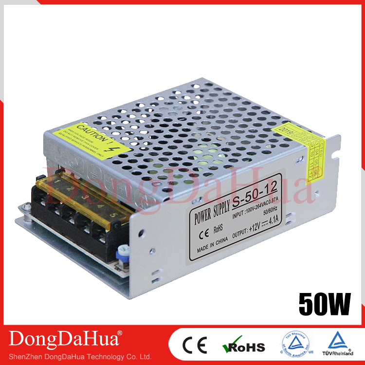 S Series 50W LED Power Supply